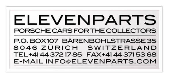 Elevenparts business card