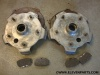 Set of front 356 Carrera 2 annular brakes